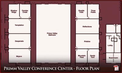Primm Conference Center Floor Plan 9 of 31