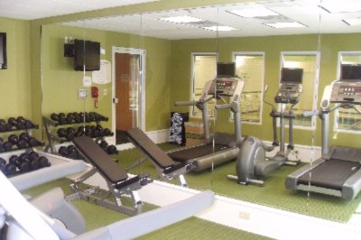 Exercise Room With State Of The Art Cardio Equipment With Personal Viewing Screens 5 of 8