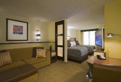 Rooms Feature Separate Living And Sleeping Areas 5 of 8