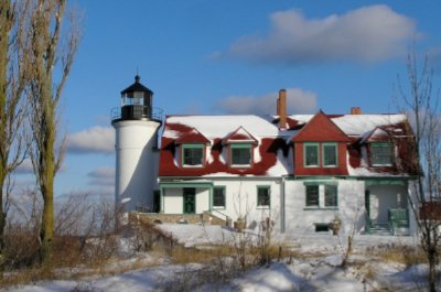 Point Betsie In Winter 6 of 16