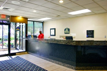 The Lobby And Front Desk Area Of The Hotel 3 of 9