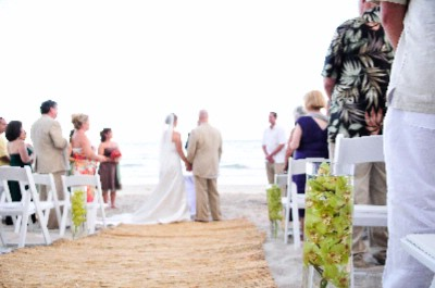 Wedding Ceremony On The Beach 14 of 31