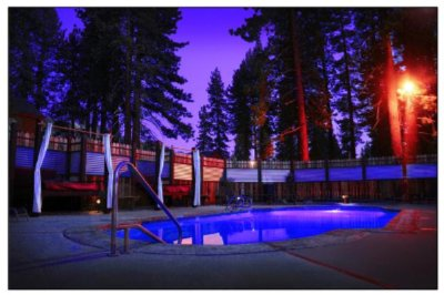Outdoor Pool With Cabanas 17 of 19