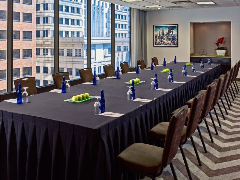 Our Newly Redesigned Presidential Suite Living Area 13 of 30