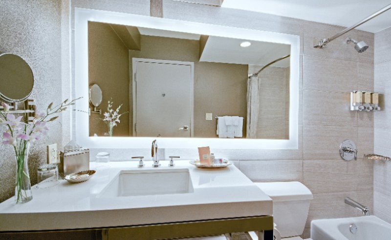 Newly Redesigned Guest Room Bath 26 of 30