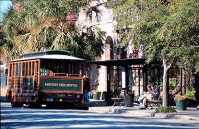 Dash (Downtown Area Shuttle ) Trolley Stop Is Located 120yds. From Our Front Door. 13 of 28