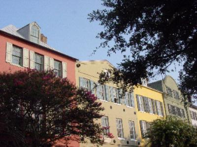 Rainbow Row On East Bay St. -Historic District 24 of 28