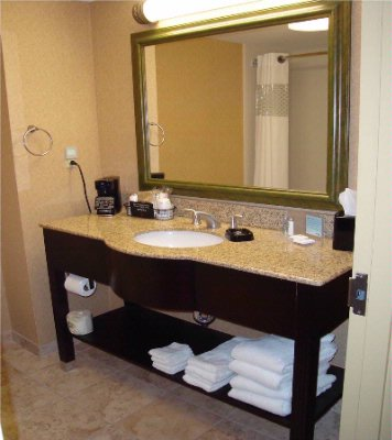 The Granite Bathroom Vanities Offer Plenty Of Space To Get Ready For A Busy At The Office Or A Relaxing Day At The Hampton Cove Robert Trent Jones Golf Course. 12 of 12