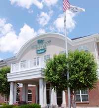 Homewood Suites Warwick Front Entrance