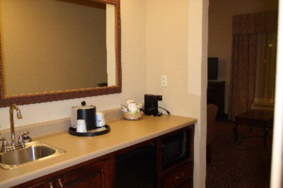 King Suite Wet Bar 12 of 16