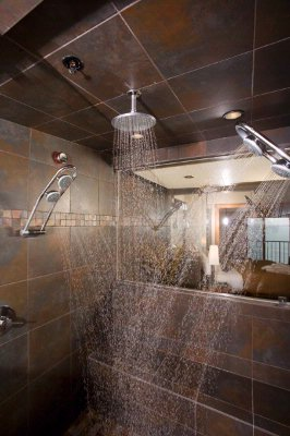 5 Head Steam Shower In The Steam Suite 9 of 13