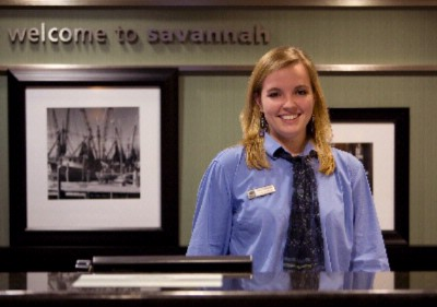 Our Staff Will Extend To You A Warm Smile And An Efficient Check In. 3 of 5