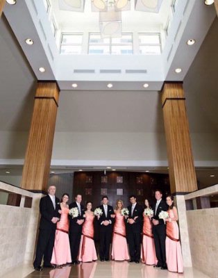 Bridal Party In Front Lobby 10 of 10