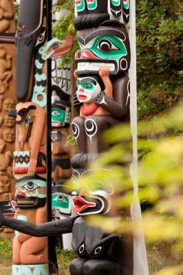 Totem Poles -Stanley Park 22 of 31