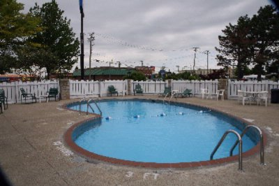 Outside Seasonal Pool. Open 10am-10pm 4 of 10