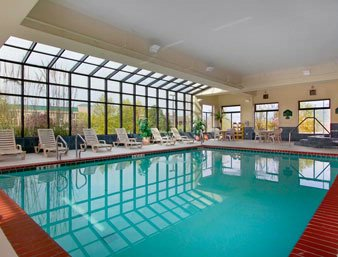Heated Indoor Swimming Pool And Hot Tub 6 of 8