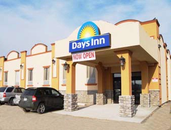Days Inn Brampton Main Entrance