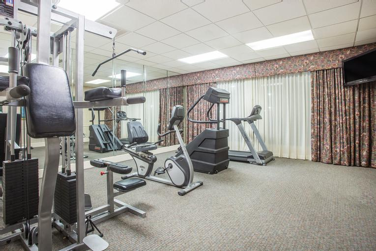 Fitness Center With View Of Pool 9 of 13