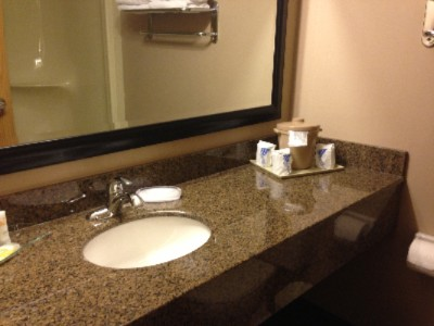 Guestroom Bathroom With Granite Countertops 8 of 23