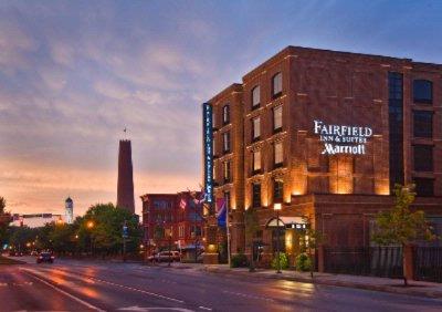 Fairfield Inn Suites Baltimore Downtown Inner 101 President St Md 21202