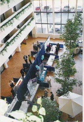 Health Fair In Atrium 7 of 11