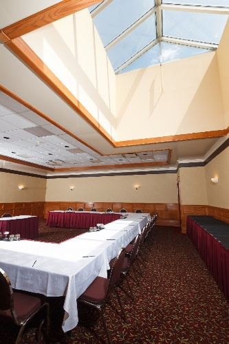 Banquet Room With Skylight; U-Shape 17 of 20