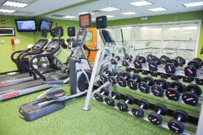 Our 24-Hour State-Of-The-Art Fitness Center Allows You To Keep Up With Your Workout Routine While Traveling. 11 of 15