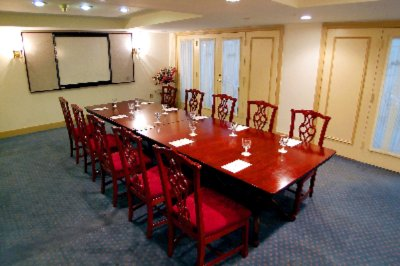 Historic Board Room With High Back Period Style Furnishings 6 of 11