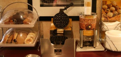 Enjoy Making A Fresh Hot Waffle For Breakfast 5 of 5