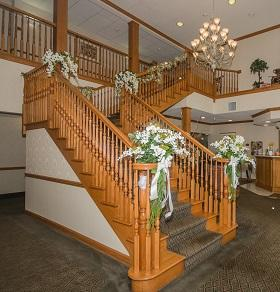 Beautiful Staircase In Our Main Lobby 13 of 13