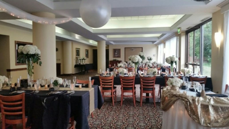 Wedding Reception In Black Diamond Room 16 of 16