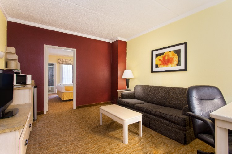 Suite Living Area 4 of 13