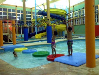 Make A Splash With Mackinaw\'s Only 3 Story Waterslides 3 of 13