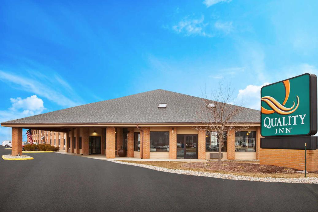 Map Attractions For Quality Inn Of Grand Blanc