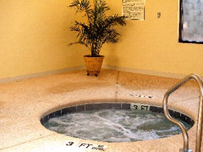 Indoor Jacuzzi Open Daily 8:00am-10:00pm 18 of 26