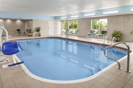 Take A Dip In Our Indoor Pool Or Relax In Our Hot Tub. 7 of 16