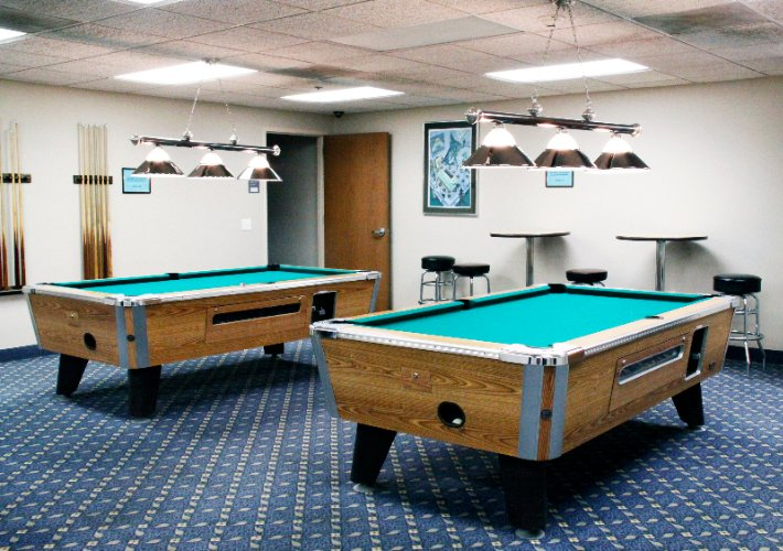 Billiard Tables In The Recreation Room 11 of 28