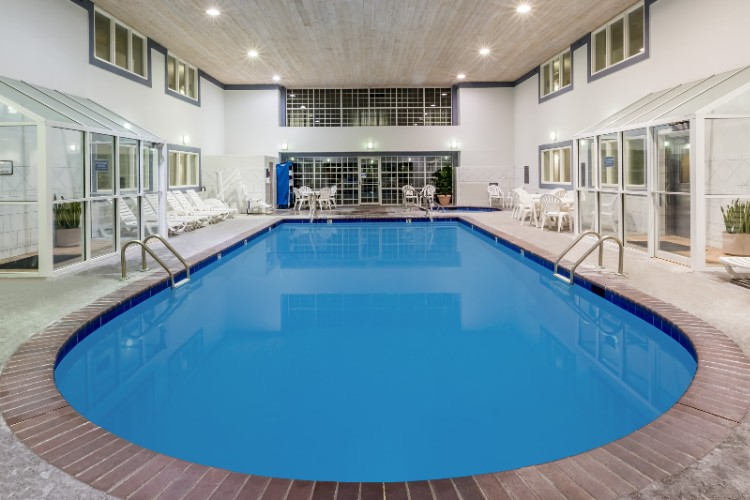 Pool Area (9\'-Deep Indoor Heated Pool) 8 of 28