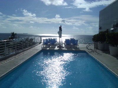 Congress Hotel on Ocean Drive Rooftop Pool