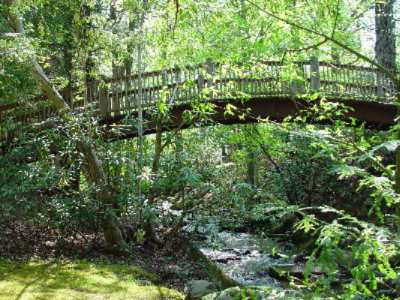 Foot Bridge To Mynatt Park And Childs Play Area 10 of 14