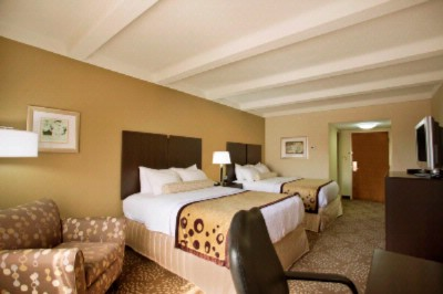 Relax In Our Two Queen Bed Room. 9 of 16