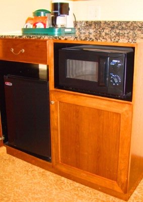Refrigerator & Microwave In Every Room 12 of 20