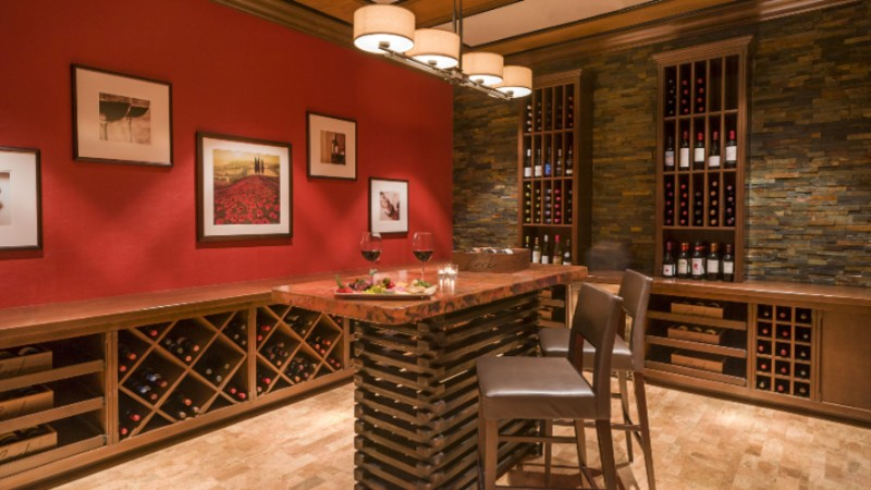 Cork Room Inside Bordeaux On Our Lobby Level Features Over 70 Wines. 12 of 16