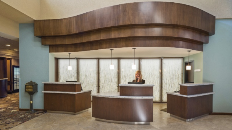 Reception Desk Of The Crowne Plaza Lansing West 4 of 16
