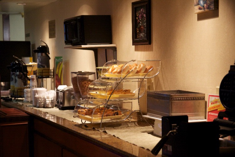 Enjoy A Hot Deluxe Complimentary Breakfast Buffet 3 of 13