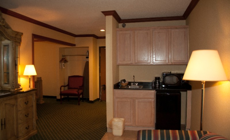 King Suite Sitting Area 9 of 13