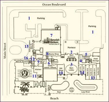 Main Lobby Level Property Map 8 of 11