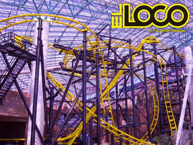 El Loco Roller Coaster! 4 of 21