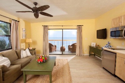 Living Room Of One Bedroom Ocean Front Suite 4 of 22