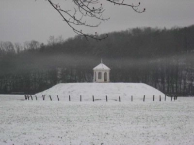 Indian Mound In Winter 17 of 29